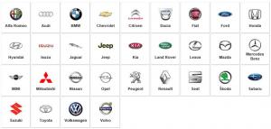 Automobilių markės